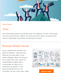 Nieuwsbrief gemaakt door marketing bureau Ajeto Marketing